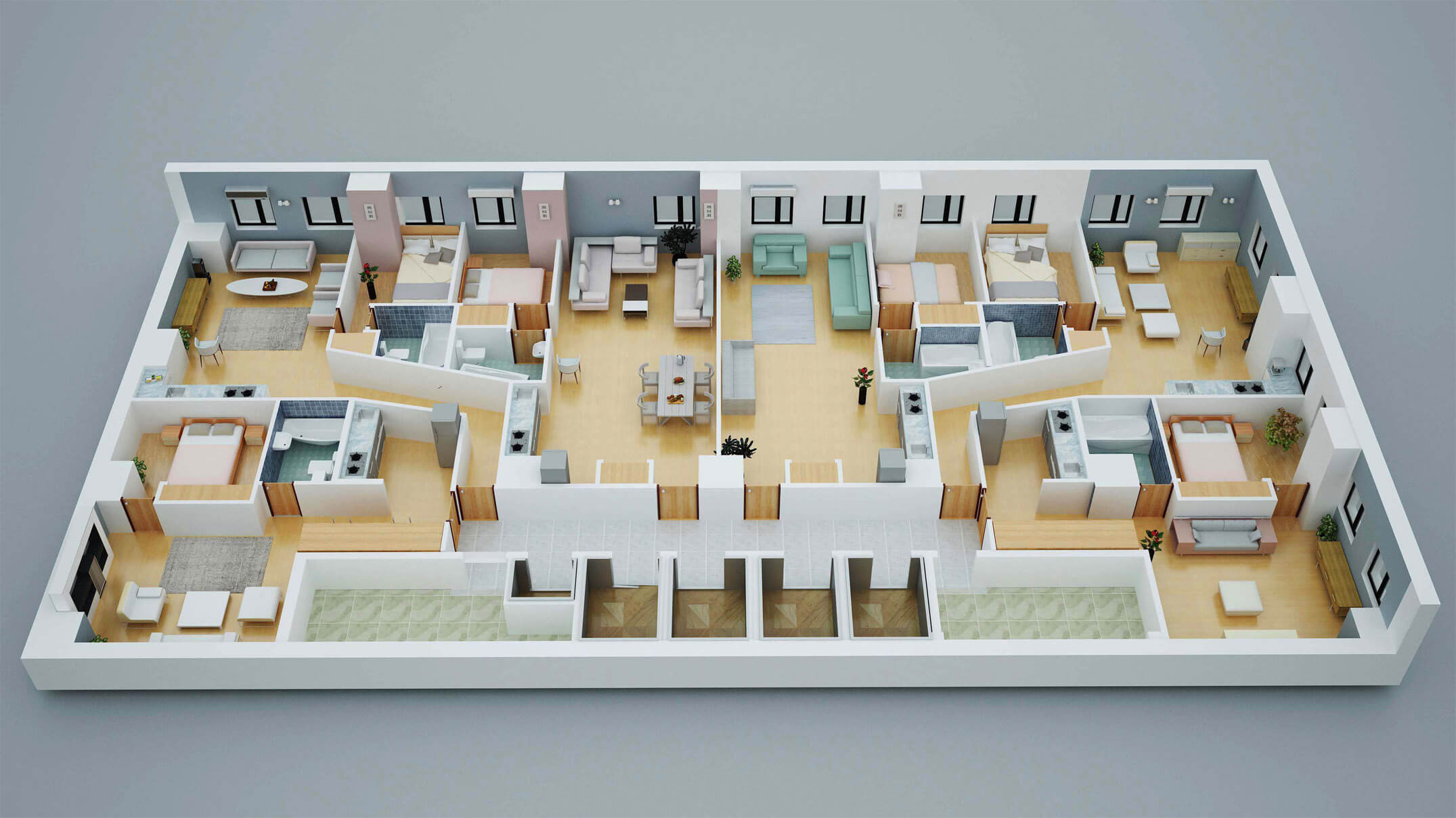 3d floor plan in united states